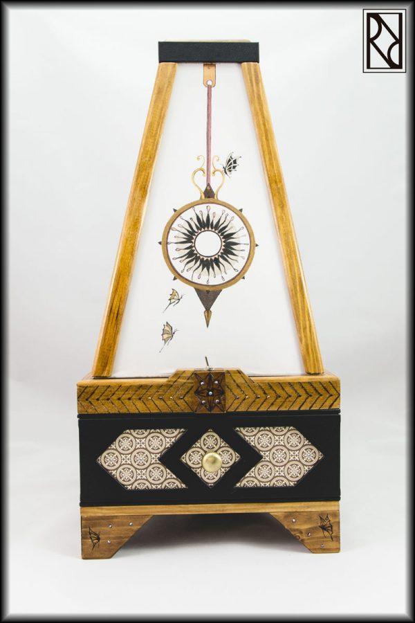 Lámpara Péndulo - Raíz de Roble - Arte y Artesanía