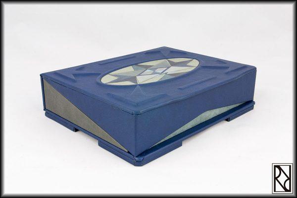 Geometric Flat Box - Raiz de Roble - Art & Crafts