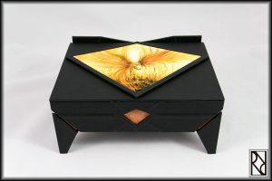 Phoenix Jewel Box - Raiz de Roble - Art & Crafts