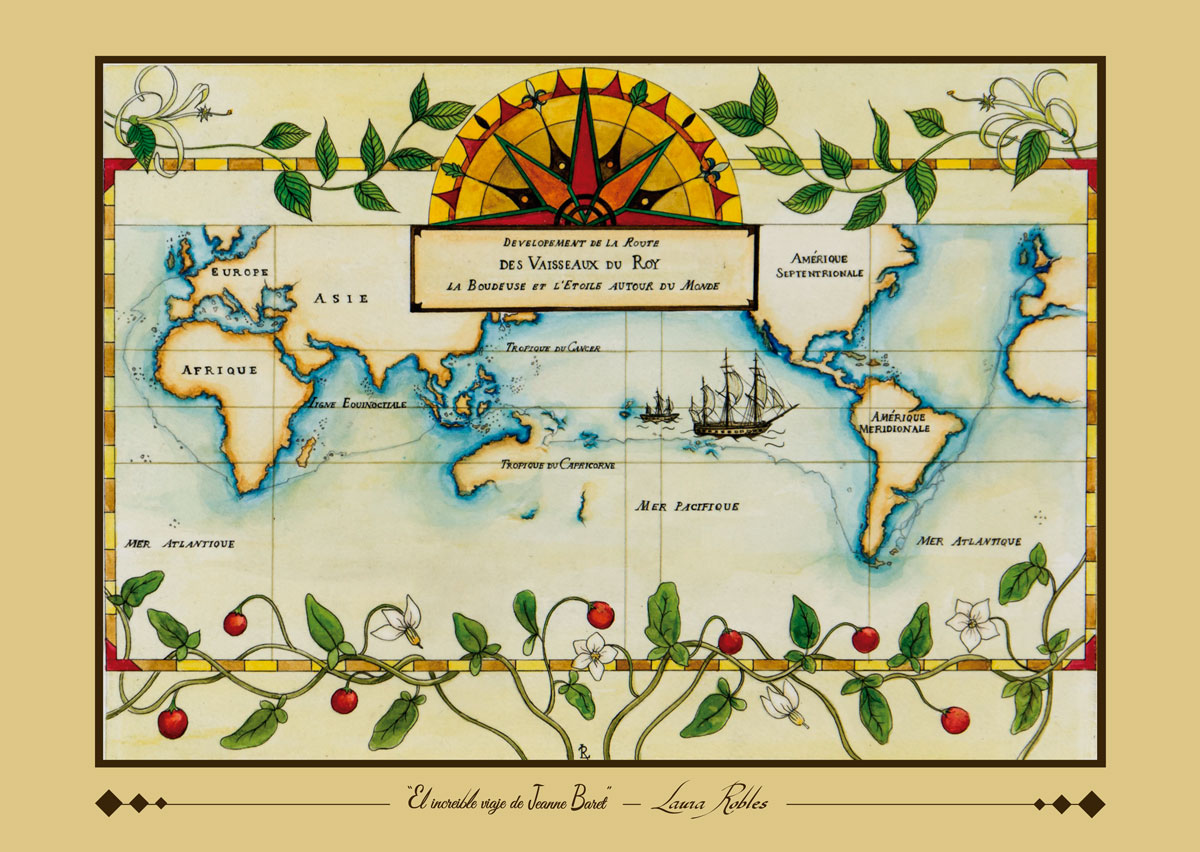 Print The Incredible Voyage of Jeanne Baret - Laura Robles - Raíz ...