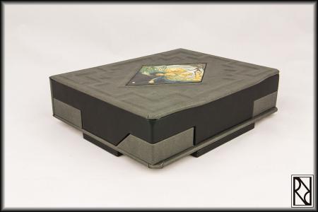 Clockwork flat box - Raiz de Roble - Art & Crafts
